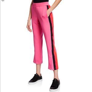 Pam + Gela knit track pants.  Pink, sz S